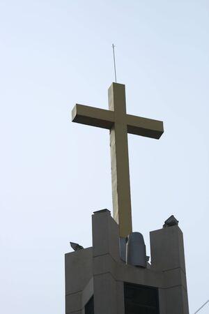 Church cross, Thailand. photo