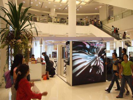 BANGKOK, THAILAND - JANUARY 8: The Siam Paragon shopping center at the grand opening. January 8 2005, Siam center, Bangkok.