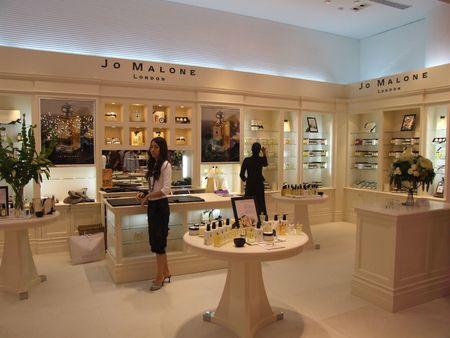 BANGKOK, THAILAND - JANUARY 8: Perfume for sale on display at the Siam Paragon shopping center at the grand opening. January 8 2005, Siam center, Bangkok.  Stock Photo - 7492356
