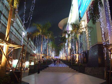 paragon: BANGKOK, THAILAND - DECEMBER 28 : Siam paragon shopping center in central Bangkok December 28 2005 in Bangkok.