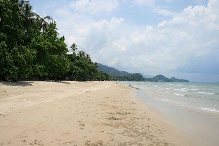 koh: Tropical beach, Koh Chang, Thailand. Stock Photo