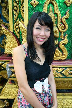Asian woman in Bangkok, Thailand. Stock Photo - 7986795