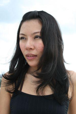Asian woman in Bangkok, Thailand. Stock Photo - 7986786