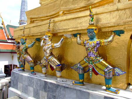 Grand palace in Bangkok, Thailand. Stock Photo - 8851244