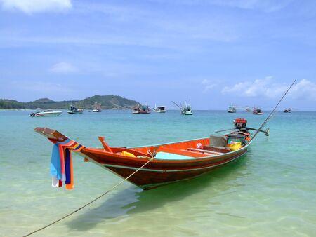 Beach in Koh Phangan, Thailand. Stock Photo - 8714012