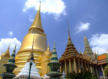 Grand palace in Bangkok. photo