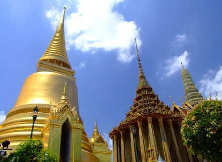 Grand Palace, Bangkok, Thailand.  photo