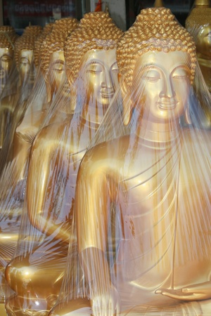 Buddha statues, Thailand. photo