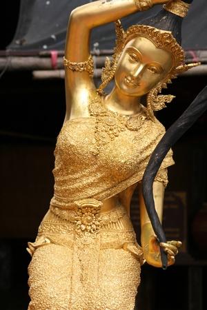 Buddhist angel, Thailand.  photo