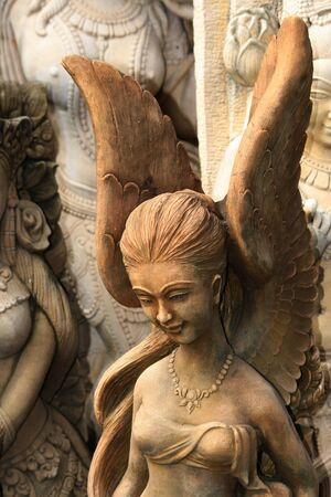 Thai angel statue, Thailand. Stock Photo - 8533716