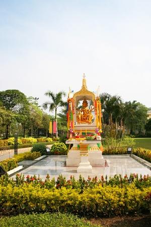 Buddhist shrine in Thailand. Stock Photo - 8962369