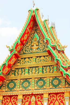 Temple in Vientiane, Laos. Stock Photo - 9506789