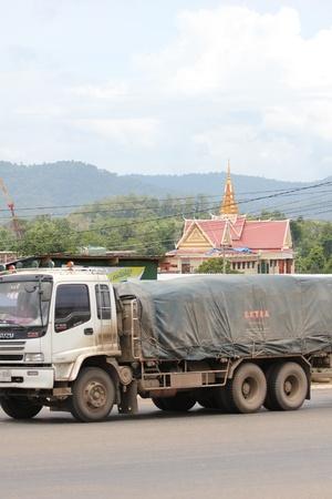 Road, Cambodia.