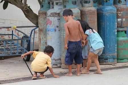 Children in Cambodia. Stock Photo - 10950215