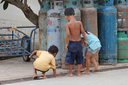 Children in Cambodia. Stock Photo - 10950208