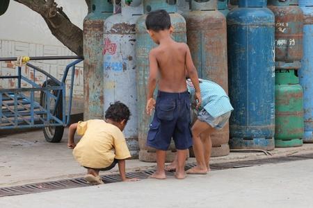 Children in Cambodia. Stock Photo - 10950234