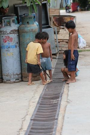 Children in Cambodia. Stock Photo - 10950196
