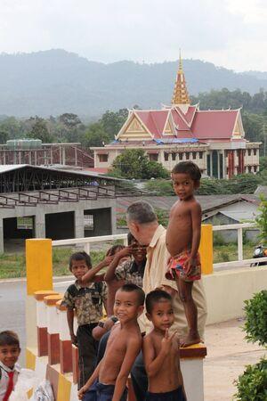 Poor children, Cambodia. Stock Photo - 10950209