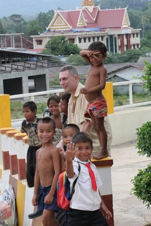 Poor children, Cambodia. Stock Photo - 10950225