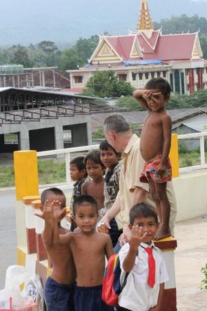 Poor children, Cambodia. Stock Photo - 10950217