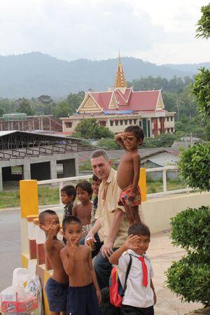 phen: Poor children, Cambodia. Editorial