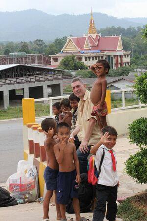 Poor children, Cambodia. Stock Photo - 10950224