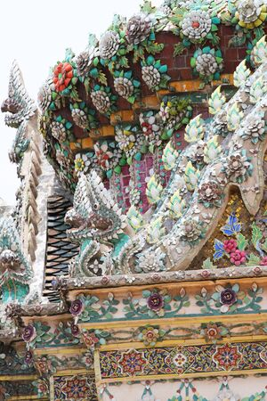 Grand Palace Buddhist temple, Bangkok, Thailand.