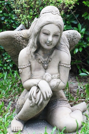 Angel statue in Thailand  photo