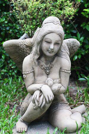 Angel statue in Thailand  photo
