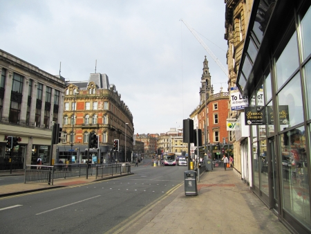 Leeds city center                                  photo