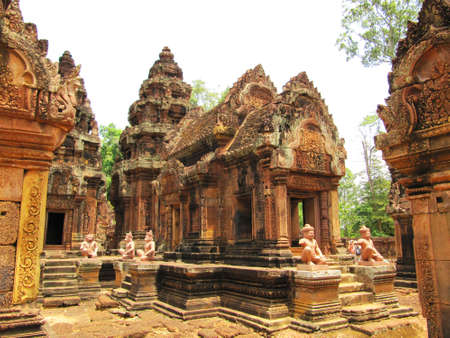 Ancient Cambodian temple, Cambodia                           Stock Photo - 12471396