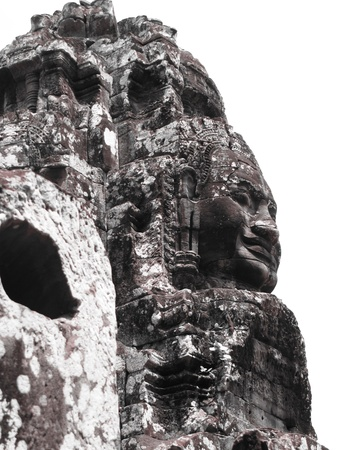 Bayon temple, Cambodia                                       photo