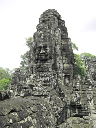 Bayon temple, Cambodia                                        photo