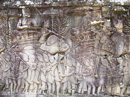 Ancient temple, Cambodia                                     photo