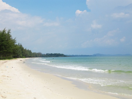 Beach in Koh Chang, Thailand                              photo