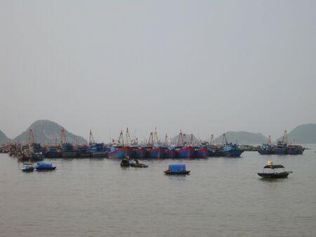 ハロン湾、ベトナム。