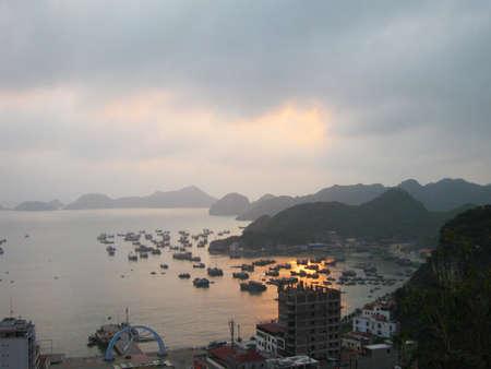 Halong bay and Catba island, Vietnam.                                 photo