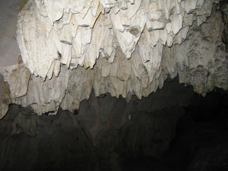 stalagmite:  Cave in Vietnam