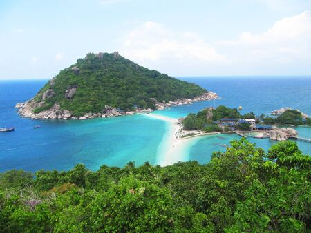 nangyuan:  Beach in Koh Tao, Thailand.                                Stock Photo