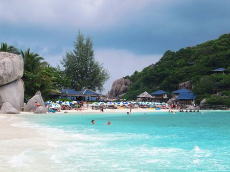 Beach in Koh Tao, Thailand.                                photo