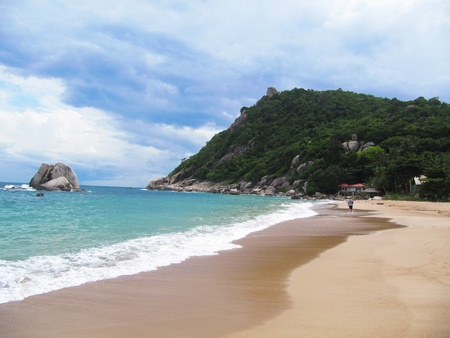 Stock Photo: Beach in Koh Tao, Thailand.                      photo