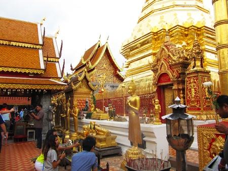 Wat Doi Suthep, Chaing Mai, Thailand.
