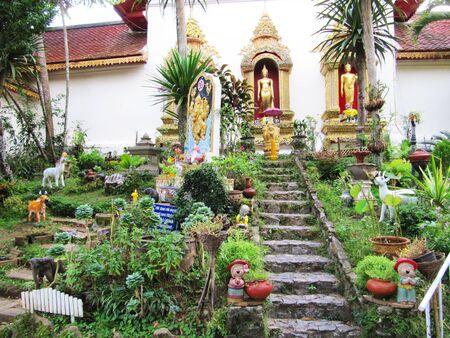 Wat Doi Suthep, Chaing Mai, Thailand.                                         photo