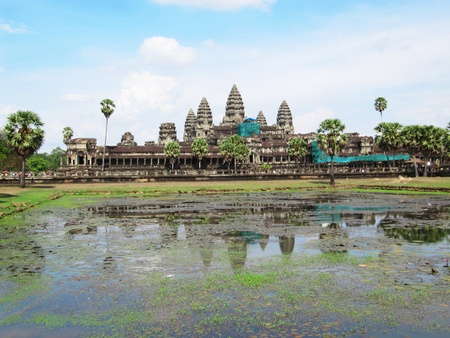 Angkor Wat, Cambodia.                               photo
