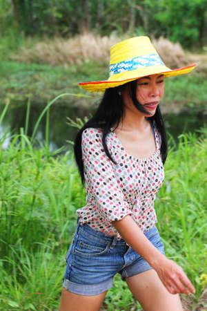 Asian woman, Thailand  photo