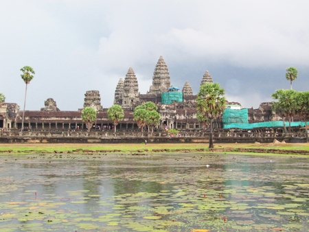 Angkor wat, Cambodia                                     photo