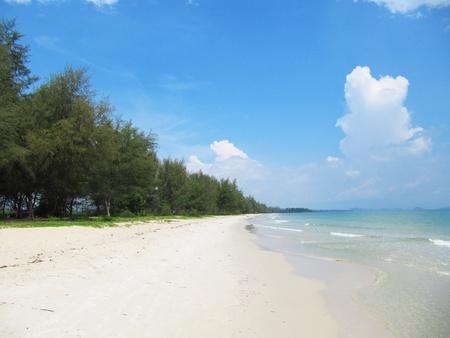 Beach in Koh Chang, Thailand                          photo