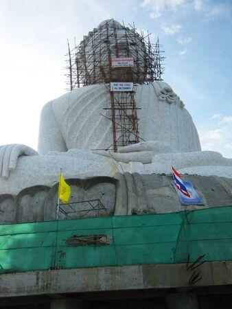 marmorate: Big Buddha statue in Phuket, Thailand