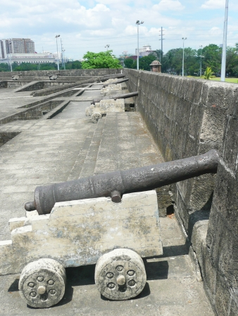 Historical monument in Manila in the Philippines  photo