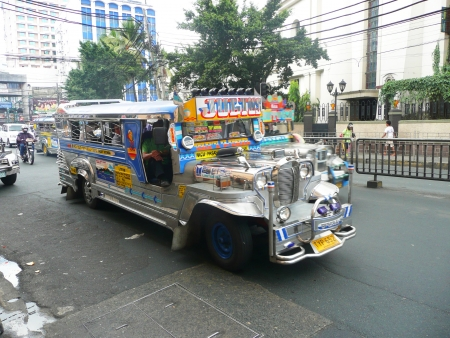 Bus in the Philippines  photo